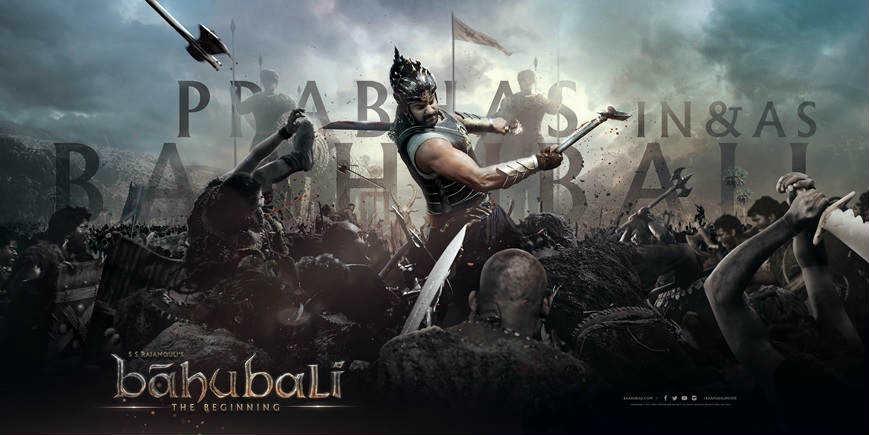 Baahubali fighting wallpaper