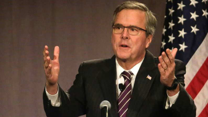Jeb Bush public address images