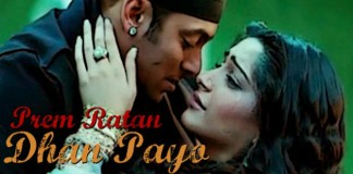 Prem Ratan Dhan Payo Movie poster