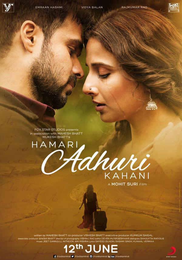 Hamari Adhuri Kahani First Look Poster