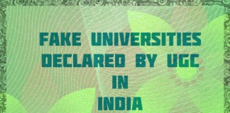 Fake universities in India UGC has released a list of 21 Fake universities